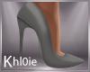 K Kate grey Heels