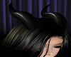 Demon Black Horns
