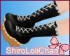* Lacey Lolita Boots Blk