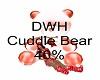 DWD chrismas Cuddle Bear