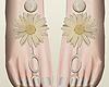Daisy Flower feet