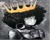 Unknown Queen1 BLACK ART
