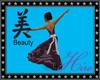 Beauty Kanji Gown