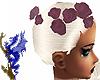Rose color hair roses