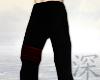 [SXA]Black Crimson Pants