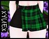 *Y* Green Punk Skirt