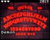 ◇Ouija Neon Sign RD
