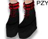 ::PZY:: Red Scott Boots