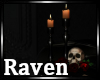 |R| Poe Skull & Candles