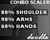 Combo Scaler   80 90 60%