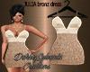 JULIA bronze dress