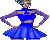 TD Blauw Kleedje