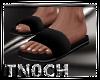 [T] Sandals Black