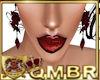 QMBR Earrings Vamp Rose