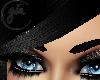 Hat Hair Black 3