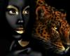 BLACK ART Gold Leopard