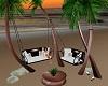 Palm Tree Hammocks set