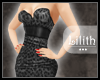 -L.- Leopard Dress Grey