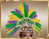 A30 Mardi Gras Headdress