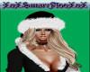 Bad Santa Hat Black