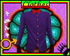 Tck_Bow Tie Purple Shirt
