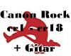 Canon Rock + Guitar