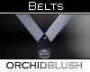 [O] Silver/White Belt
