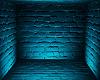 Neon Blue Brick Bkg