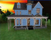 Blue Country Home