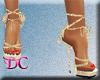 (DC)Strap Platform Gold