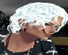 Silver White Wavy Hair