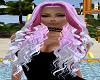 2 Tones Pink Hair