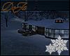 rD winter night home
