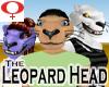Leopard Head -Female