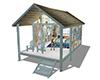 Beach cabin furniture