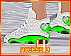 ! Fluo Green Sneakers F