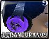 purple toxic9 headphones