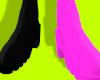 Black/Pink Stompers