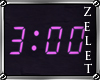 |LZ|3AM Neon Clock