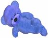 Blue Cuddle Teddy Bear