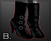 Trad goth long boots