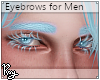 Ice Blue Eyebrows