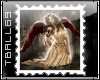 Goth Angel Stamp