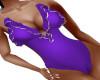 Swimsuit Purple Gold