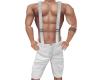 NV Susp Shorts White