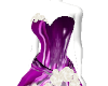 Christmas Purple gown