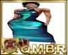 QMBR M - Teal Shimmer