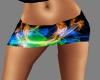 {LA} Rave shorts blu ora
