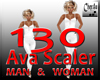 AVA scaler M &  W