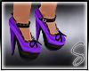[Sev] Bow Heels Purple